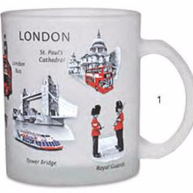London Mugs, Cups and Beakers