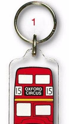 London Acrylic Keyrings