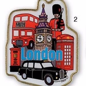 London Metal Shaped Magnets