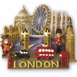 Polyresin London Magnets-Large & Small
