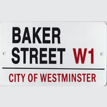 London Street Signs & Metal Wall Signs